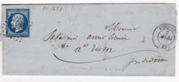 Lettre 1860 Issoire Riom Puy De Dôme Compagnie Générale Des Caisses D'Escompte - 1853-1860 Napoleon III