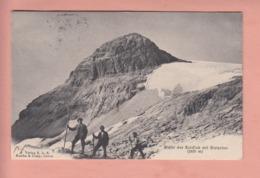 OLD POSTCARD - SWITZERLAND - SUISSE - SCHWEIZ -   MOUNTAINEERING - GIPFEL SULZFLUH - GR Graubünden