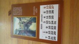 Ath : Calendrier 2002  Offert Par Le  Cercle Royal D'Histoire - Reprenant (voir Détails) - Obj. 'Remember Of'