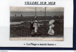 14-VILLERS SUR MER - La Plage A Marée Basse - Villers Sur Mer