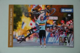 CYCLISME: CYCLISTE : REMCO EVENPOEL Signée - Wielrennen