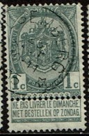 53  Obl Relais  Alsemberg  + 30 - 1893-1907 Coat Of Arms