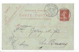 24030 - Haute Savoie  Magland 26.05.1910 Pour Le Brassus - Entiers Postaux
