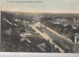 NAMUR / PANORAMA DE LA SAMBRE VERS LE NORD - Namen