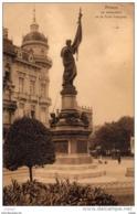 BELGIQUE  ANVERS  Le Monument De La Furie Française. Carte écrite En 1906.2scans - Antwerpen