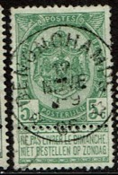 56  Obl Relais  Benonchamps  + 30 - 1893-1907 Coat Of Arms