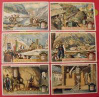 6 Chromo Liebig : Les Mines D'or Du Mont Rose. 1914. S 1096 - Liebig