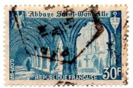 Abbaye De St Wandrille - Oblitérés