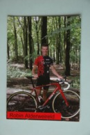 CYCLISME: CYCLISTE : ROBIN ALDERWEIRELD - Wielrennen