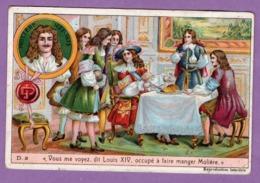 Louis XIV Et Moliere  - Petite Histoire De France  Serie D N° 3  - - Geschichte
