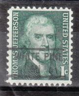 USA Precancel Vorausentwertung Preo, Locals Michigan, White Pine 841 - Vereinigte Staaten
