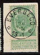56  Obl Relais  Everbecq  + 30 - 1893-1907 Coat Of Arms