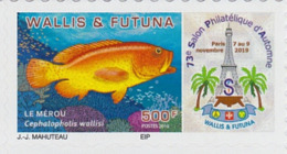 Merou 2019 Adhésif 73ème Salon D'aurtomne - Wallis-Et-Futuna