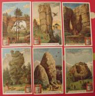 6 Chromo Liebig : Rochers Remarquables. 1902. S 710. Chromos - Liebig
