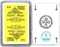 Jeu De 32 Cartes Publicitaire LE MONT ST MICHEL Playing Card - 32 Cards