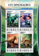Djibouti 2016  Dinosaurs - Djibouti (1977-...)