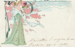 Cartolina  - Postcard /   Viaggiata - Sent/   Donnina - Liberty - Donne
