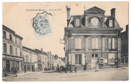 SERMAIZE LES BAINS - Hôtel De Ville (vue Animée - Familistère Du Nord Est Succursale 51) - Sermaize-les-Bains