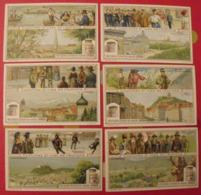 6 Chromo Liebig : Costumes Et Vues De L'Autriche. 1914. S 1089. Chromos. Austria Osterreich - Liebig
