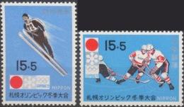 --- 1971 Japon Y. 1000 / 1001** M. 1098 / 1099** - 1926-89 Emperor Hirohito (Showa Era)