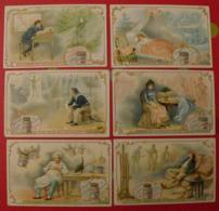 6 Chromo Liebig : Rêves. 1900. S 645. Chromos - Liebig
