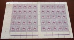 Nouvelle Calédonie - 1922 - N°Yv. 126 - Bloc De 50 Bord De Feuille - Neuf Luxe ** / MNH / Postfrisch - Ungebraucht