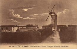Thematiques 44 Loire Atlantique Frossay Les Pins Habitation Ou L'Aviateur Maneyrol Vécut Toute Son Enfance Moulin - Paimboeuf