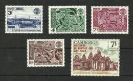 Cambodge N°180 à 183, 187 Neufs** Cote 4.10 Euros - Cambodia