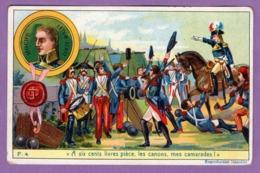 Un Trait De Hoche LES CANONS   - Petite Histoire De France  Serie F N° 4  - - Geschichte