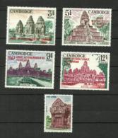 Cambodge N°180, 200 à 205 Neufs** Cote 5.75 Euros - Cambodia
