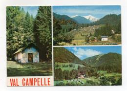 Scurelle Valsugana (Trento) - Val Campelle - Timbro XXII° Campeggio CAI-SAT Trento - Viaggiata Nel 1976 - (FDC18256) - Trento