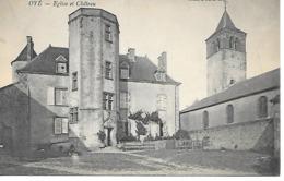 25/16        62    Oyé      Place De L'église & Le Chateau - Oye Plage