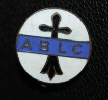 Insigne émaillé De Club De Sport Breton ABLC Avec Hermine Bretonne (à Identifier) Football ? - Sports