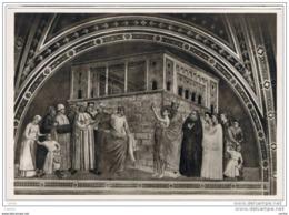 FIRENZE:  BASILICA  DI  S. CROCE  -  S. FRANCESCO  RINUNZIA  AI  SUOI  MONDANI  AVERI (Giotto)  -  FOTO  -  FG - Quadri, Vetrate E Statue