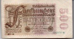 500 MILLIONEN MARK - [ 3] 1918-1933: Weimarrepubliek