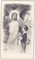 Image Pieuse / Communion Solennelle / Gérard DUMORTIER Paroisse St-Maur - Herseaux, Ce 21 Mai 1950 - Religion & Esotérisme