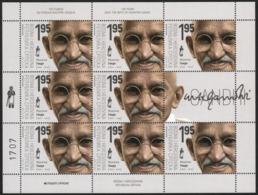 Bosnia - Republic Of Srpska, 1900, 150 Years Since The Birth Of Mahatma Gandhi, Mini Sheet, MNH, Mi# - Bosnien-Herzegowina