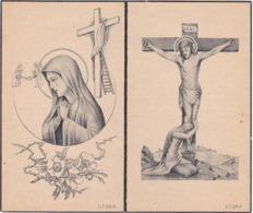 Image Pieuse / A La Mémoire Des Anciens Elèves De L'Ecole Saint-Joseph HERSEAUX - CENTRE / 1914-1918 / 1940-1944 - Religion & Esotérisme