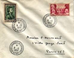 FRANCE : 1951 - FDC - Journées Vétérinaires - Alfort - FDC
