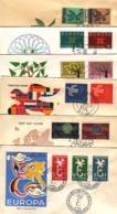 LUXEMBOURG : Lot De 6 FDC EUROPA - 1958 - 1960 - 1961 - 1962 - 1963 - 1965 - Europa-CEPT