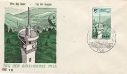 SARRE : 1956 - FDC - Journée Du Timbre - FDC