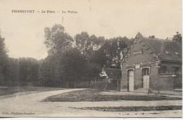 80  PIERREPONT  La Place  - La Mairie - Other Municipalities
