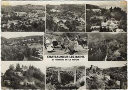 63  Chateauneuf Les Bains  Et Gorges De La Sioule - Frankrijk