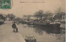 35 REDON  Canal De Mantes à Brest - Redon