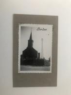Borloo  Borlo  Gingelom  FOTO Van De Kerk En Omgeving (afmeting 6,5 X 9 Cm) - Gingelom