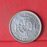GUINÉ 5 ESCUDOS 1973 -    KM# 15 - (Nº32239) - Portugal
