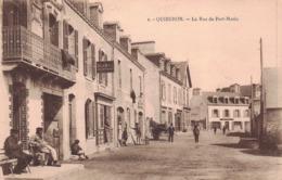 QUIBERON  -  La Rue De Port Maria (edts J. NOZAIS ) - Quiberon
