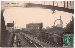 PARIS METROPOLITAIN-PRES DE LA STATION CAMBRONNE - Metro, Stations