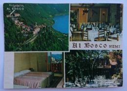 """NEMI (ROMA) - RISTORANTE """" AL BOSCO"""" - Via Nemorense  Nv - Other Cities"""