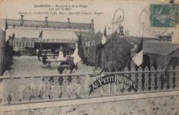 """QUIBERON  -   Maison L. Carzon , Café Bieres ...boulevard  De La Plage  """" Au Petit Robinson """" - Quiberon"""